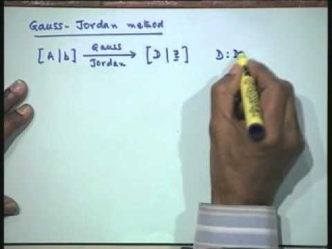 Lec-13 Solution of a System of Linear Algebraic Equations-Part-3