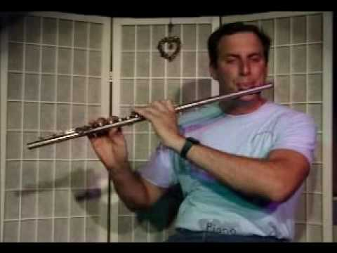 Flute Lesson: How to play a Db/C# Minor Chord with Arpegio