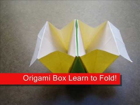 How to Fold Origami Accordion Box - OrigamiInstruction.com