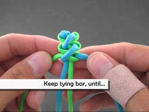 How to Make a Curling Millipede (claspless) Bracelet by TIAT