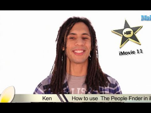Learn iMovie - How to Use the People Finder