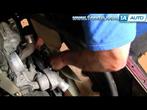 How To Install Replace Radiator Fan Toyota Tundra Lexus 1AAuto.com