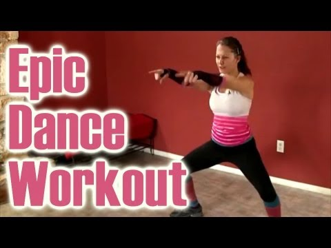 Epic Dance Workout: Look Hot & Burn Fat How To Video, Dena Austin Psychetruth