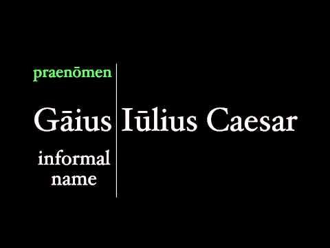 Roman Names