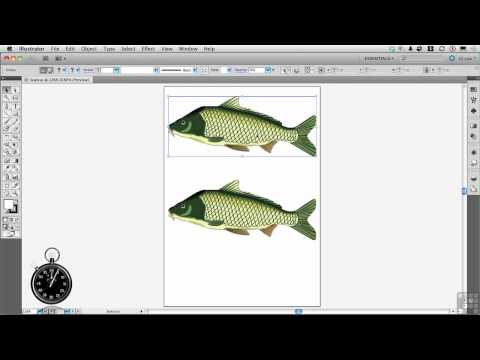 InfiniteSkills | Adobe Illustrator | How to Scale Line Drawings Correctly | Tutorial
