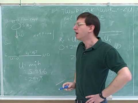 More on work and conservation of energy (7)