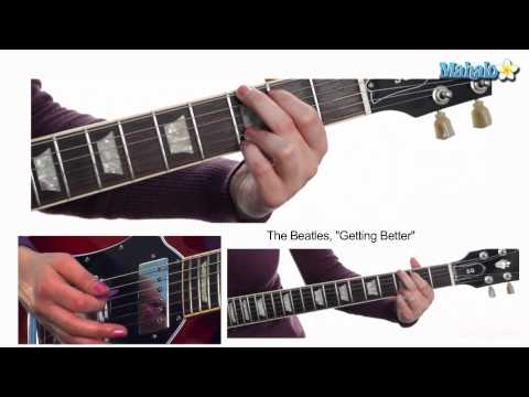 "How to Play ""Getting Better"" by The Beatles on Guitar"