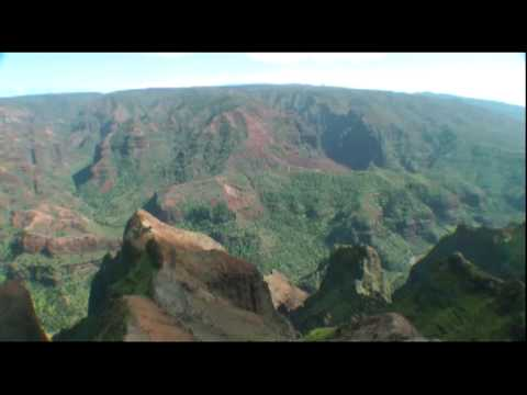 High above the Helicopters -  Kauai,  Hawaii