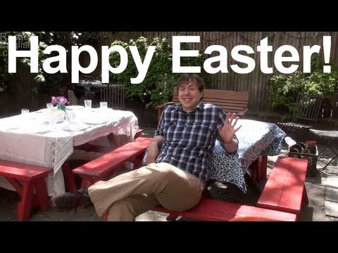 Happy Easter!  AA vowel followed by nasal consonants - American English pronunciation