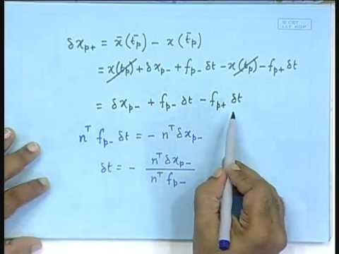 Lecture - 39 The Monodromy Matrix and the Saltation Matrix