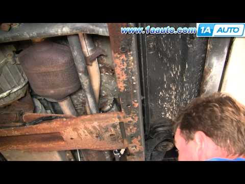 How To Install Replace Broken Knock Sensor Wire Chevy GMC Vortec 5700 1AAuto.com