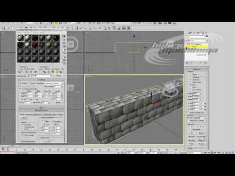 3D Studio MAX - Procutter Tool / Reactor Wall Part 1