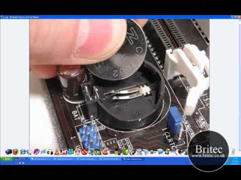 How to Bypass / Remove / Reset the BIOS Password or Clear CMOS by Britec