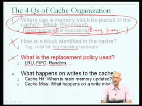 Mod-06 Lec-28 Cache operation (contd)