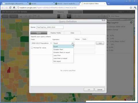 Fun with GIS #78: Querying Data with ArcGIS Explorer Online