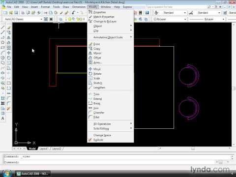 How to launch AutoCAD commands | lynda.com tutorial