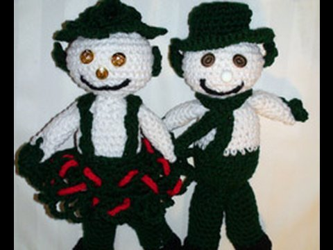 Crochet Snow Leprechaun Part 1
