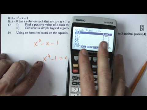 Core 3 Iteration and numerical methods with decimal search.MP4
