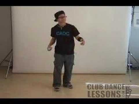 "Club Dance Lessons for Men ""Rock Step"""
