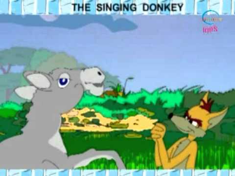 Animated Stories - The Singing Donkey - English - Kids Cartoon