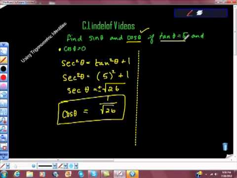 Using Trigonometric Identities