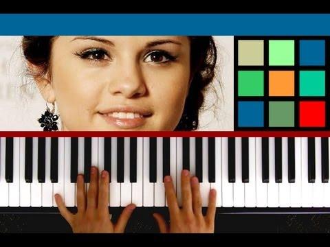 """How To Play """"Who Says"""" Piano Tutorial (Selena Gomez)"""