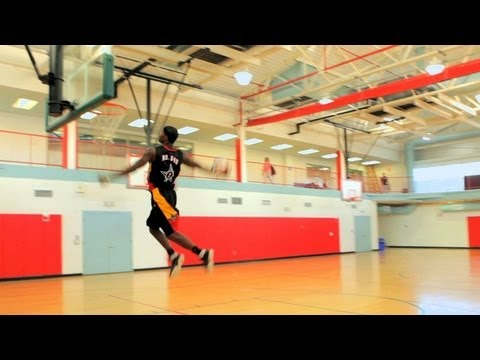 How to Play Basketball: Basketball Moves / Windmill Dunk