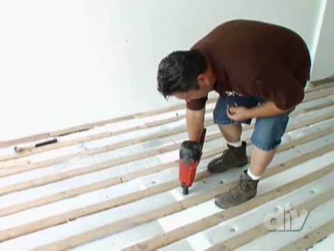 Radiant Heating System-DIY