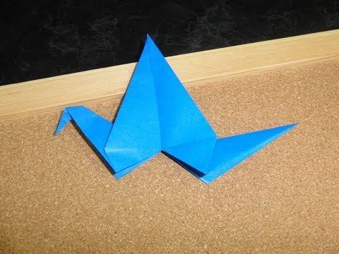Daily Origami:  273 - Bird