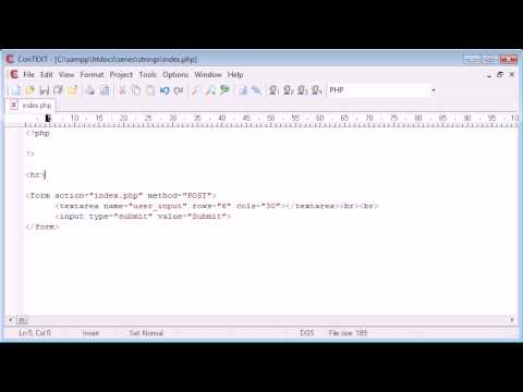 Beginner PHP Tutorial - 52 - Word Censoring Part 1