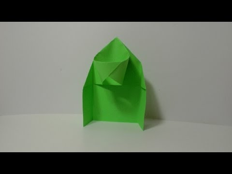 origami basketball hoop  instructions