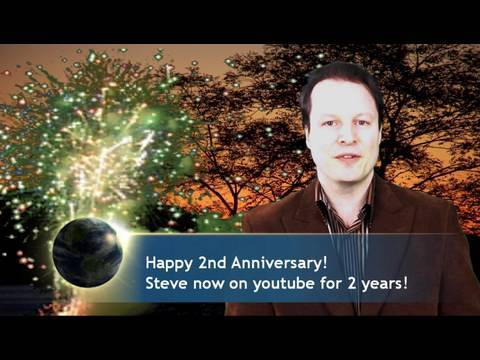 Learn English with Steve Ford- Youtube  Anniversary Message