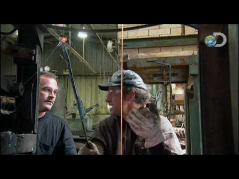 Dirty Jobs - Marble Maker - Draining Molten Glass