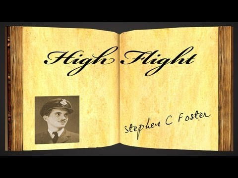 High Flight by John Gillespie Magee Jr. - Poetry Reading