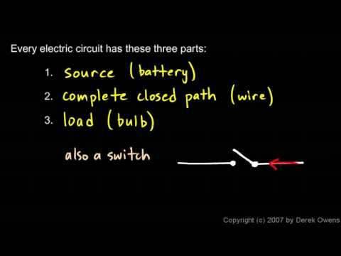Physical Science 6.2a - Simple Circuits