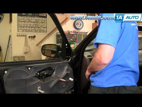 How To Install Replace Side Rear View Mirror Ford Escape Mercury Mariner 01-07 1AAuto.com
