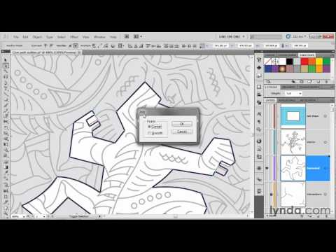 Making symmetrical modifications in Illustrator | lynda.com tutorial