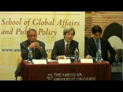 GAPP at AUC Holds a Discussion in Cooperation with the Japan Foundation- Part 1