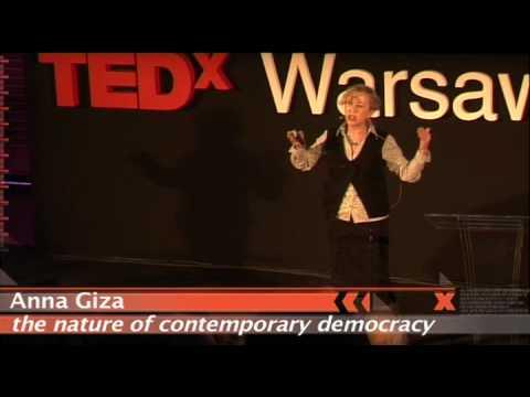 TEDxWarsaw - Anna Giza - 3/05/10