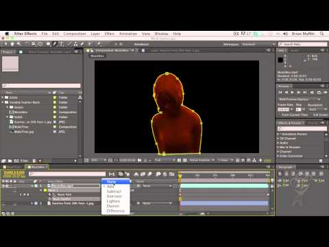 After Effects CS6 Essentials Variable Mask Feathering, Part 1