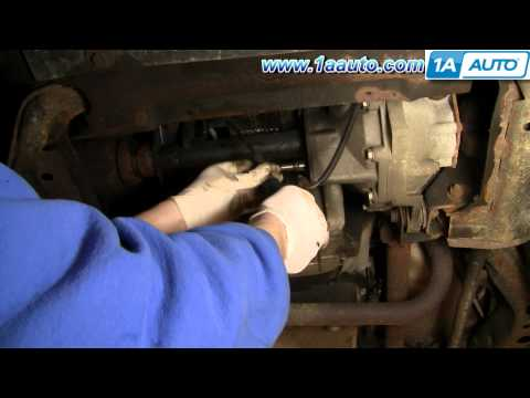 How To Fix 4WD Front Axle Cable GMC Sonoma Chevy Blazer 1AAuto.com