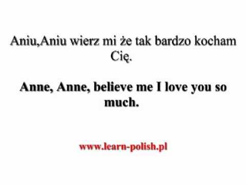 Polish Songs For A Wedding. Polish Love Songs. Polnische Liebeslieder.