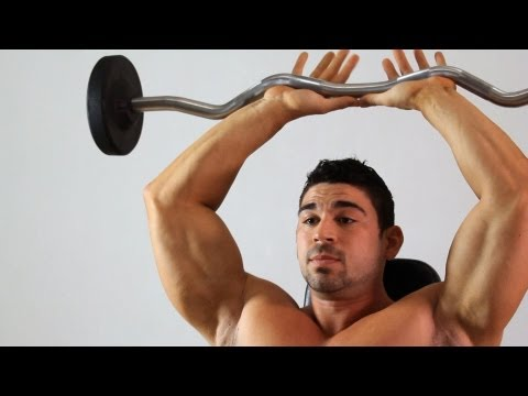 French Press | Home Arm Workout for Men
