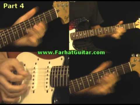 Time - Pink Floyd  Guitar lesson www.FarhatGuitar.com