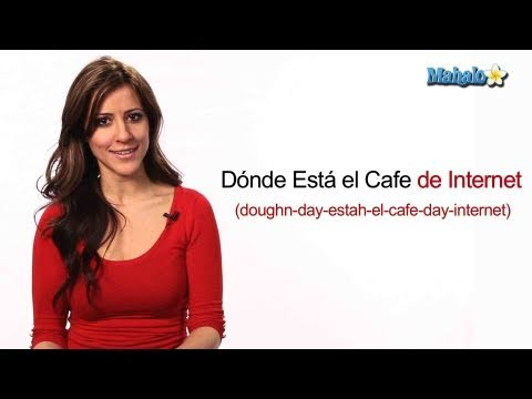"How to Ask ""Where is the Internet Cafe"" in Spanish"
