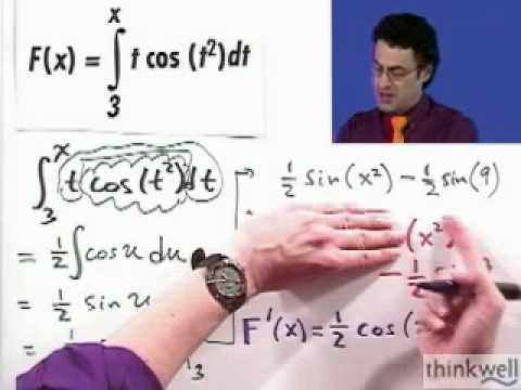 The Fundamental Theorem of Calculus Part 1, Part 2 of 2, from Thinkwell's Video Calculus Course