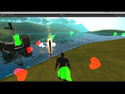 223. Unity3d Tutorial - Particle System (Elemental Weapons)