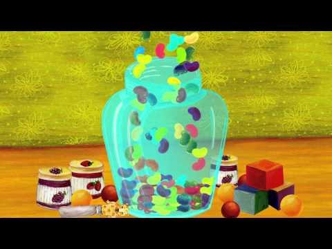 "Jelly bean & Jack in the box - Lower Case Alphabet ""j"""
