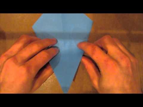 Origami Beluga Whale