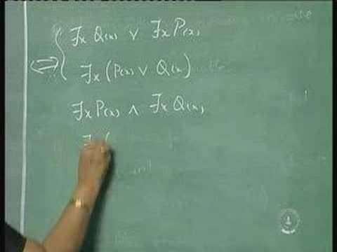 Lecture 4 - Predicates & Quantifiers (Contd.)